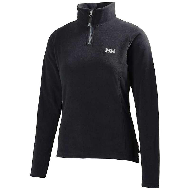 ヘリーハンセン レディース パーカー・スウェット アウター Helly Hansen Women's Daybreaker 1/2 Zip Fleece Top Black