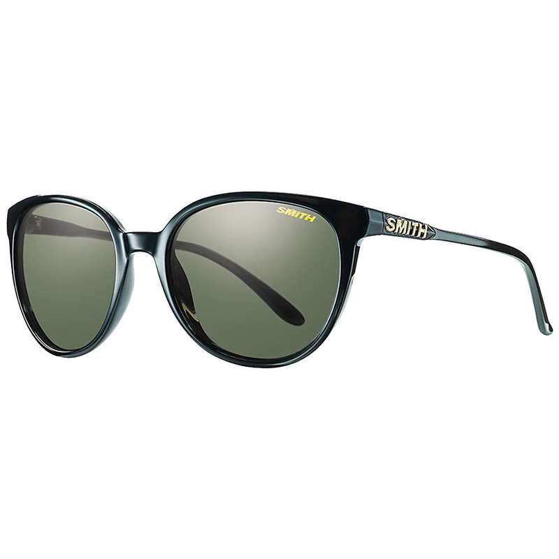 スミス レディース サングラス・アイウェア アクセサリー Smith Women's Cheetah Polarized Sunglasses Black / Polarized Grey Green