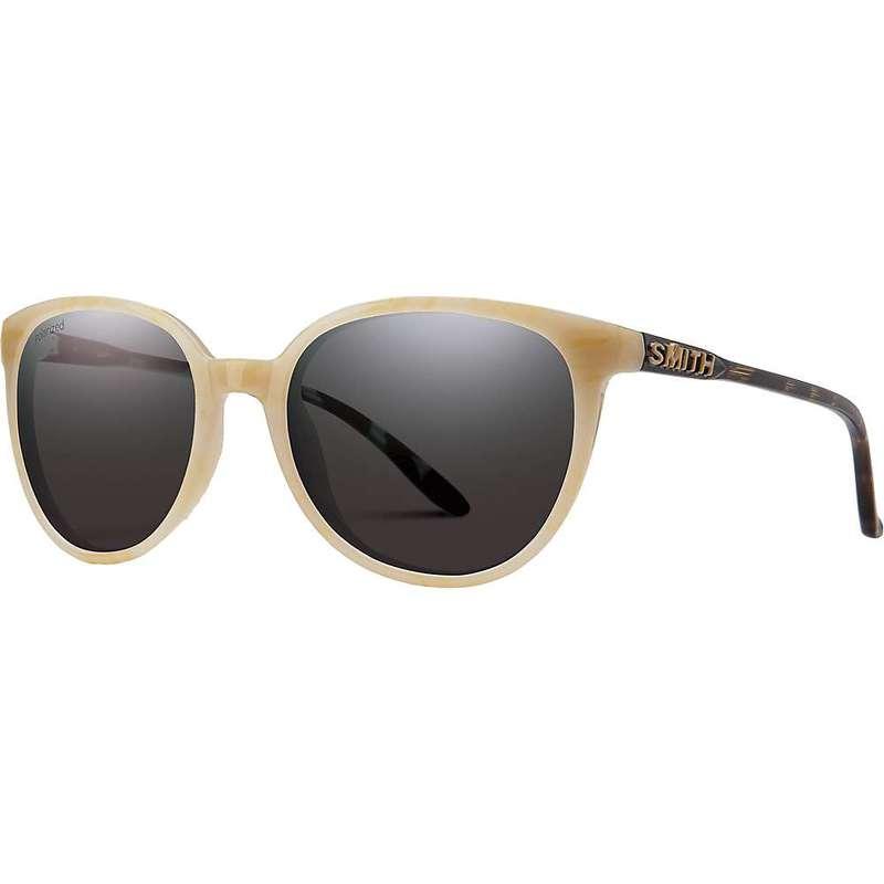 スミス レディース サングラス・アイウェア アクセサリー Smith Women's Cheetah Polarized Sunglasses Ivory Tortoise/Polarized Gray Green
