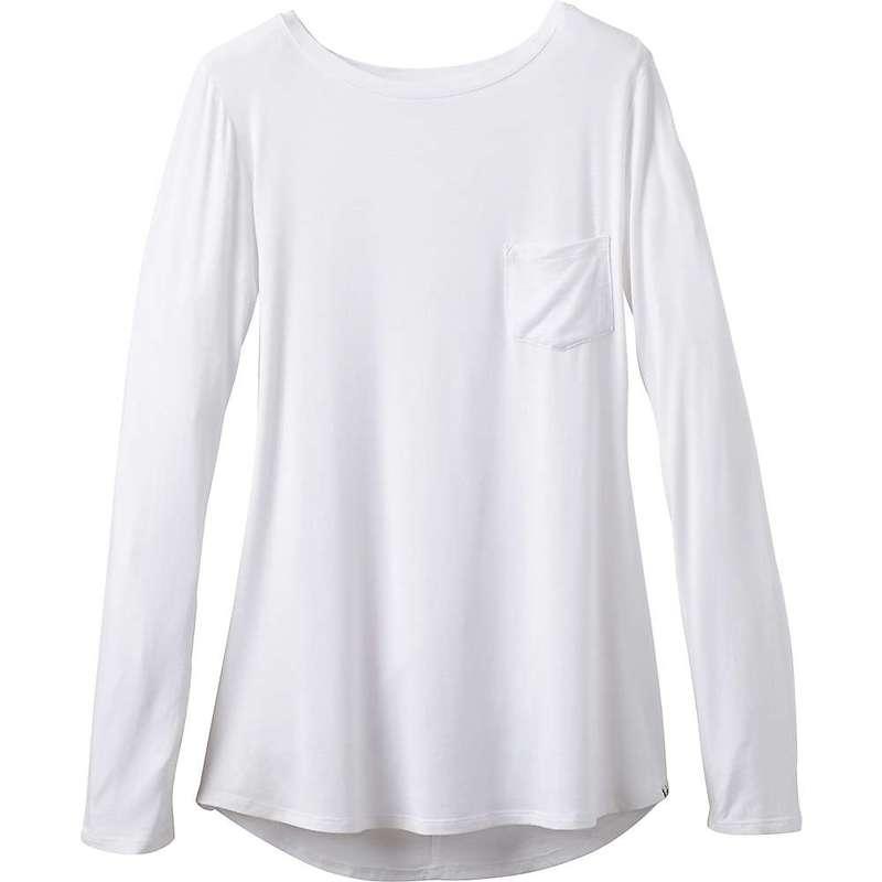 プラーナ レディース シャツ トップス Prana Women's Foundation LS Tunic White