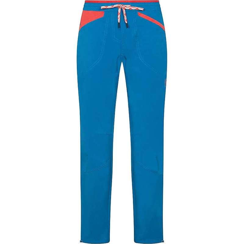ラスポルティバ レディース カジュアルパンツ ボトムス La Sportiva Women's Sharp Pant Neptune / Hibiscus