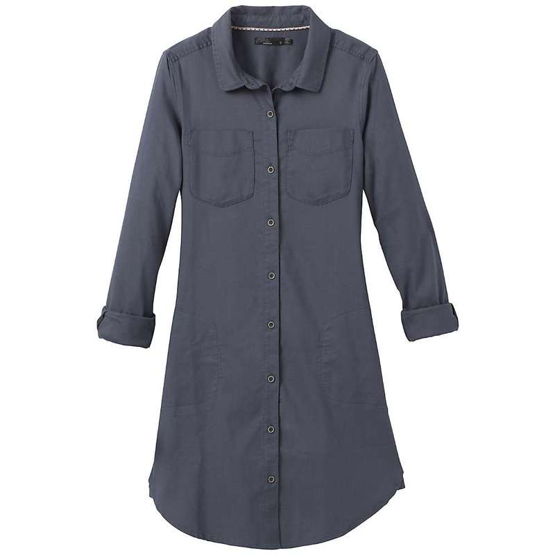 プラーナ レディース ワンピース トップス Prana Women's Yarrow Dress Noir Blue