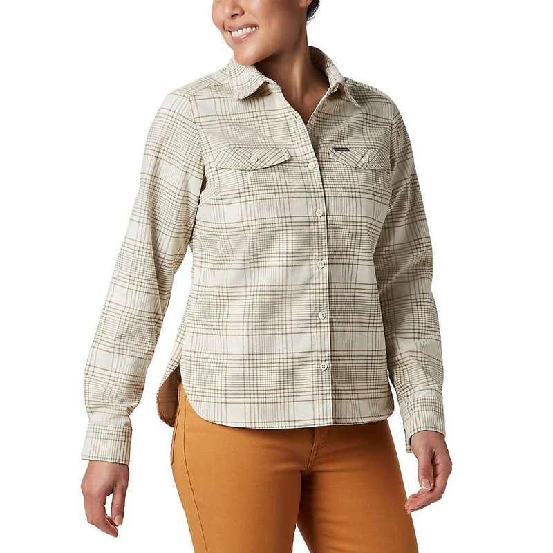 コロンビア レディース シャツ トップス Columbia Women's Silver Ridge LS Flannel Shirt Truffle Small Plaid