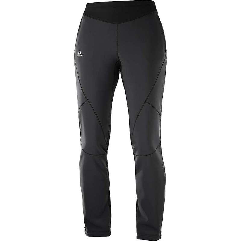 サロモン レディース カジュアルパンツ ボトムス Salomon Women's Lightning Warm Softshell Pant Black