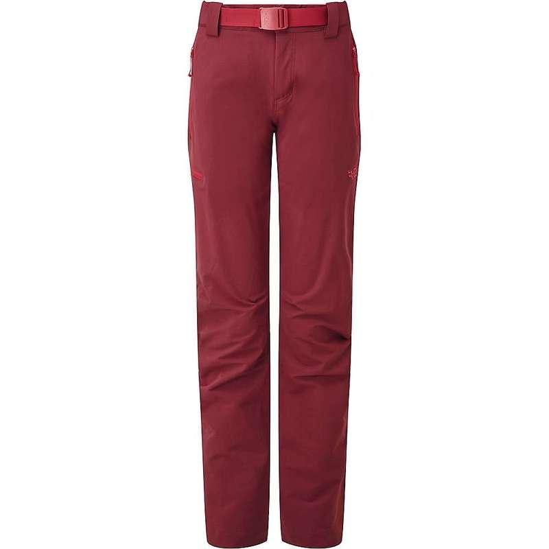 ラブ レディース カジュアルパンツ ボトムス Rab Women's Vector Pant Dark Crimson