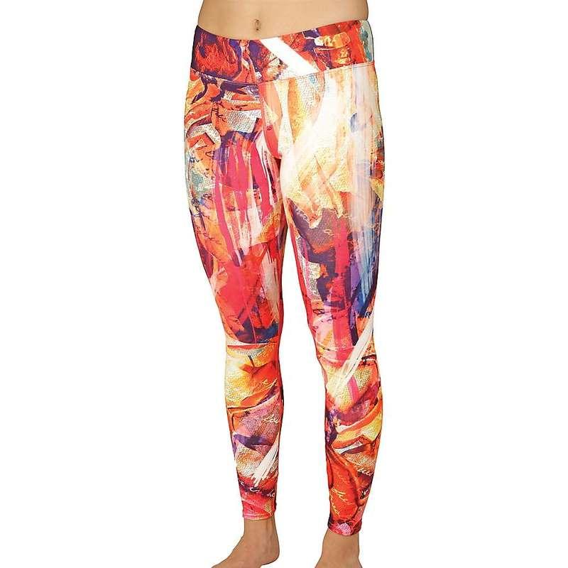 ホットチリーズ レディース カジュアルパンツ ボトムス Hot Chillys Women's MTF4000 Sublimated Print Tight Woosh