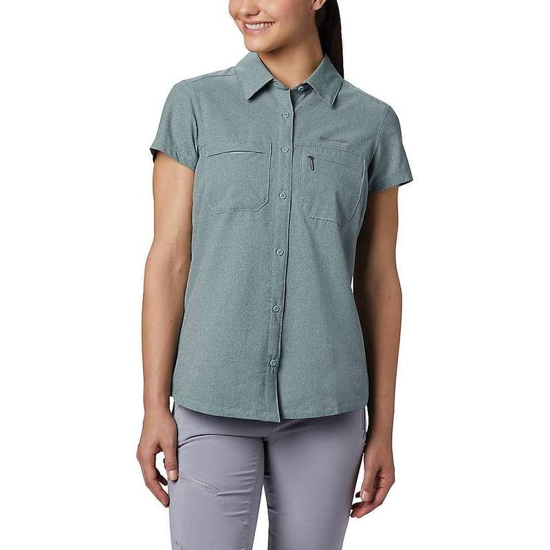 コロンビア レディース シャツ トップス Columbia Women's Irico SS Shirt Light Lichen Heather