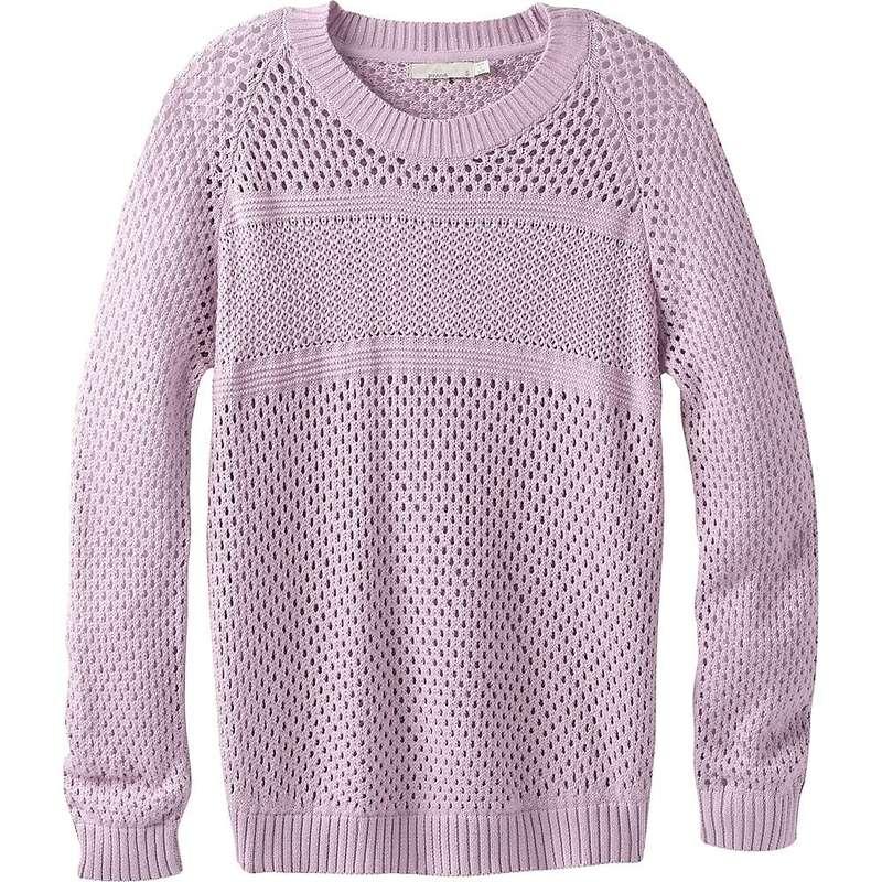 プラーナ レディース ニット・セーター アウター Prana Women's Kokimo Sweater Bleached Lavender