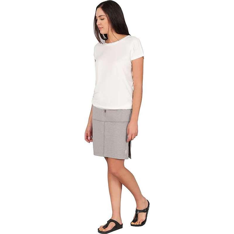 インデジェナ レディース スカート ボトムス Indygena Women's Hiza Skirt Grey Mastic H