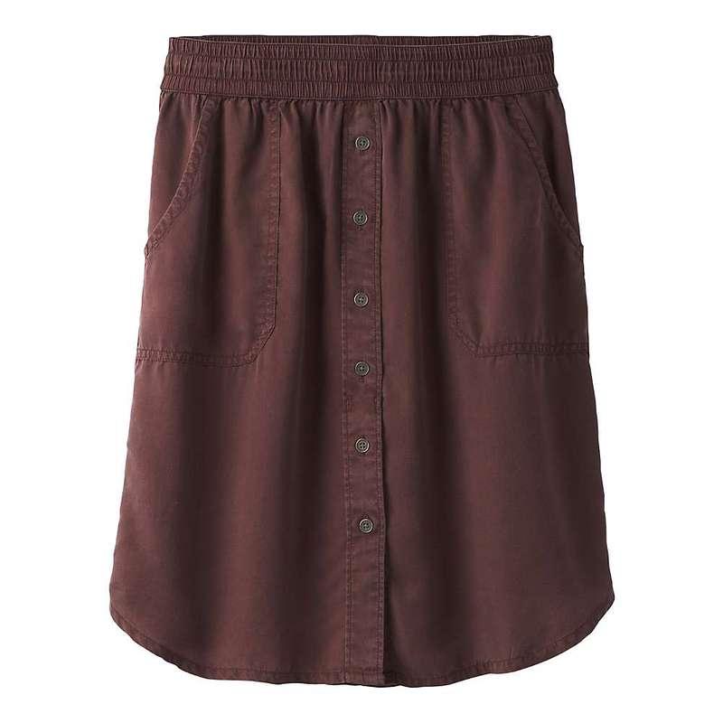 プラーナ レディース スカート ボトムス Prana Women's Shelly Skirt Cocoa