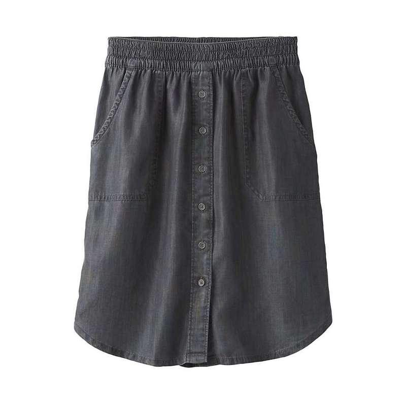 プラーナ レディース スカート ボトムス Prana Women's Shelly Skirt Grey Wash