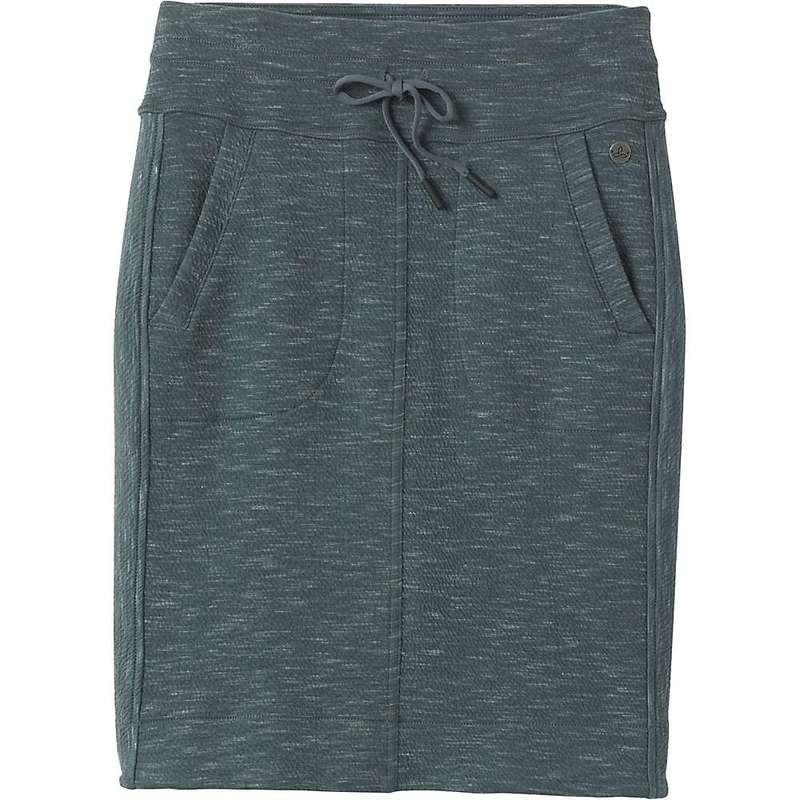 プラーナ レディース スカート ボトムス Prana Women's Sunrise Skirt Grey Blue