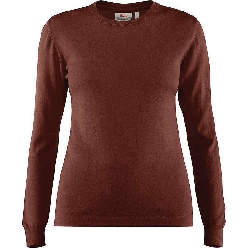 フェールラーベン レディース シャツ トップス Fjallraven Women's High Coast Lite Merino Knit Top Marron