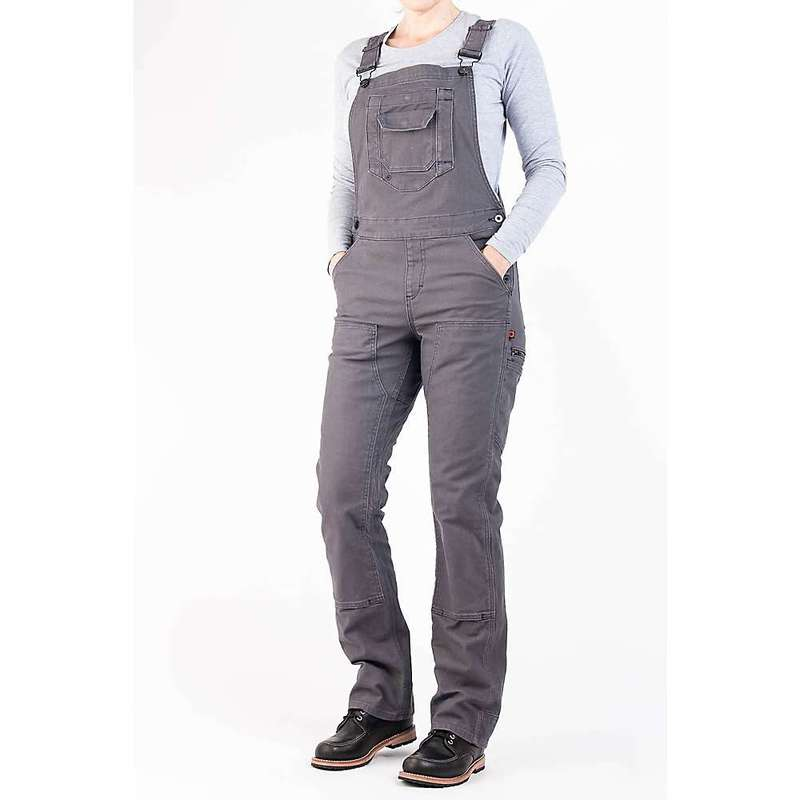 ダブテイル レディース カジュアルパンツ ボトムス Dovetail Women's Freshley Overall Dark Grey