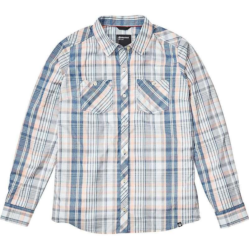 マーモット レディース シャツ トップス Marmot Women's Aella LS Shirt Classic Blue