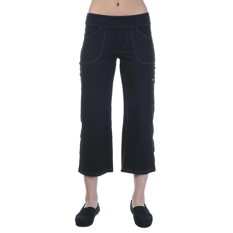 ストーンウェアデザイン レディース カジュアルパンツ ボトムス Stonewear Designs Women's Compass Capri Black