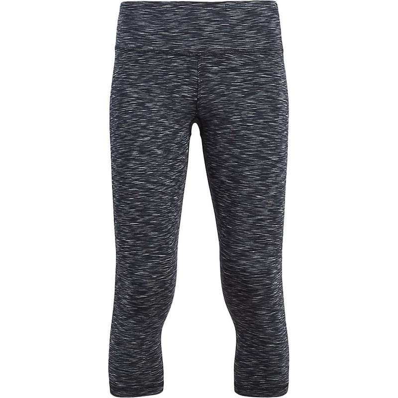 タスクパフォーマンス レディース カジュアルパンツ ボトムス Tasc Women's Nola Crop Pant Black Space Dye Print