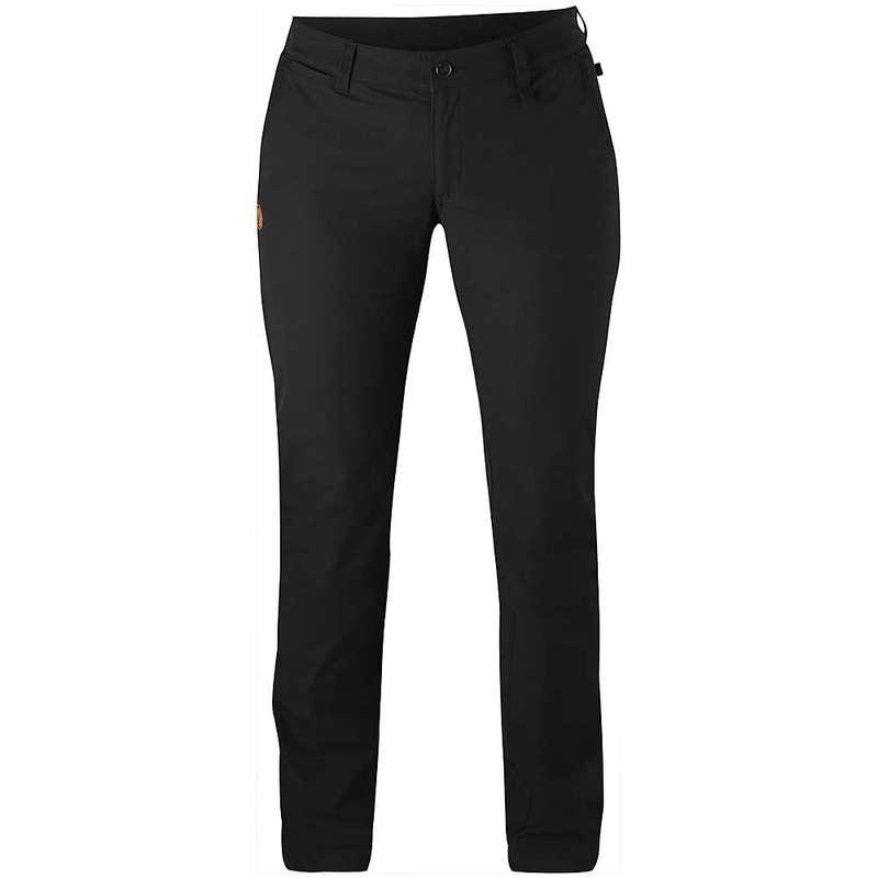 フェールラーベン レディース カジュアルパンツ ボトムス Fjallraven Women's Abisko Stretch Trouser Black