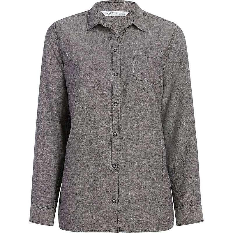 ウール リッチ レディース シャツ トップス Woolrich Women's Eco Rich Oak Park Twill Shirt Black