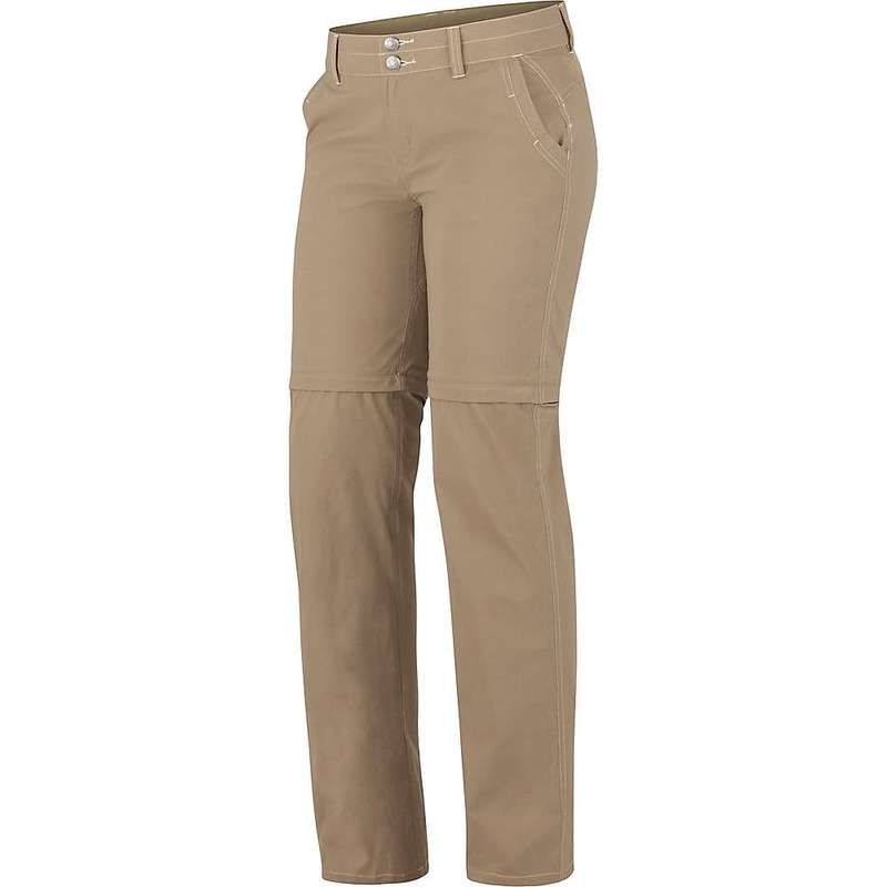 マーモット レディース カジュアルパンツ ボトムス Marmot Women's Kodachrome Convertible Pant Desert Khaki