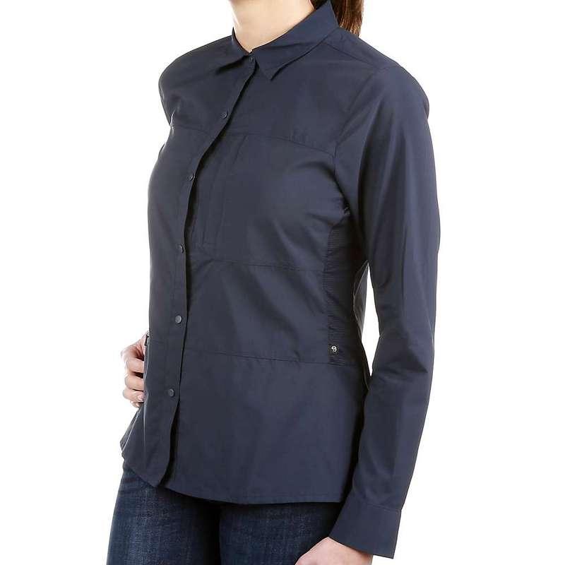 マウンテンハードウェア レディース シャツ トップス Mountain Hardwear Women's Canyon Pro LS Shirt Dark ZincVUqSzMp
