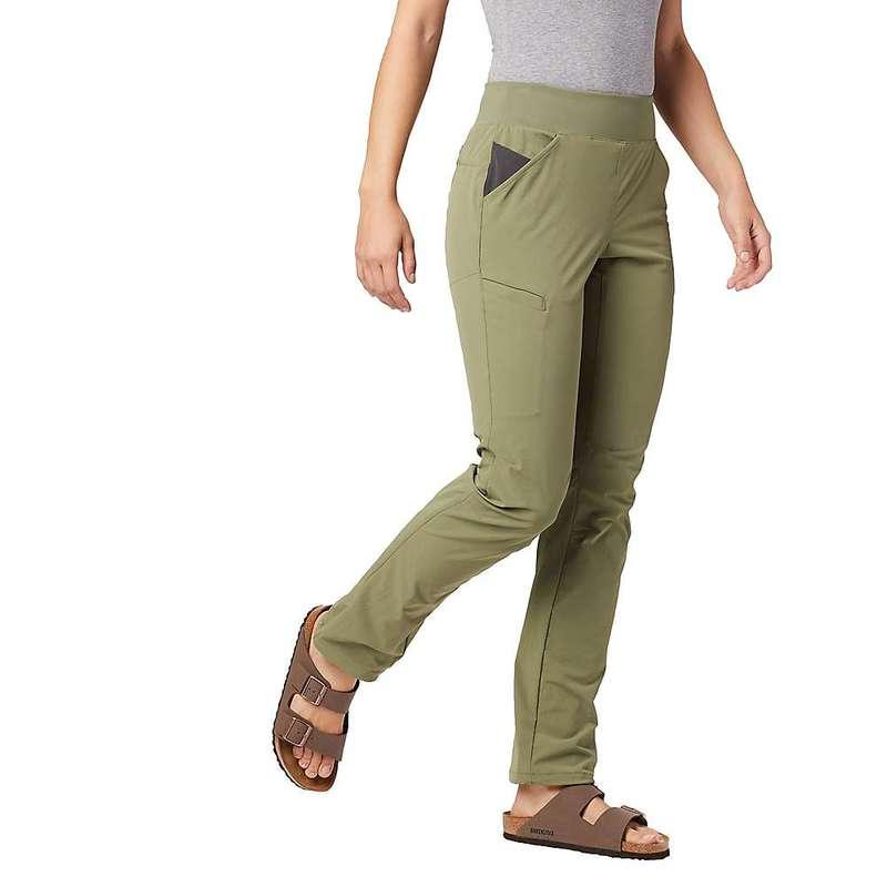 マウンテンハードウェア レディース カジュアルパンツ ボトムス Mountain Hardwear Women's Logan Canyon Pant Light Army