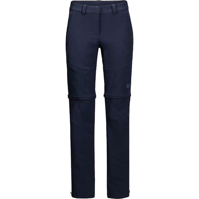 ジャックウルフスキン レディース カジュアルパンツ ボトムス Jack Wolfskin Women's Activate Zip Away Pant Midnight Blue