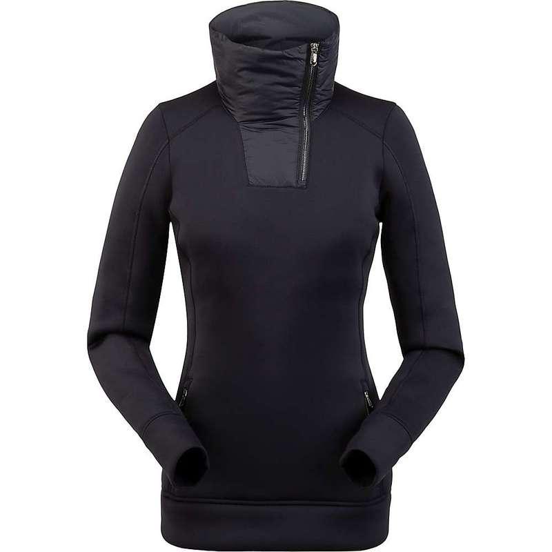 スパイダー レディース シャツ トップス Spyder Women's Monde Zip T-Neck Top Black