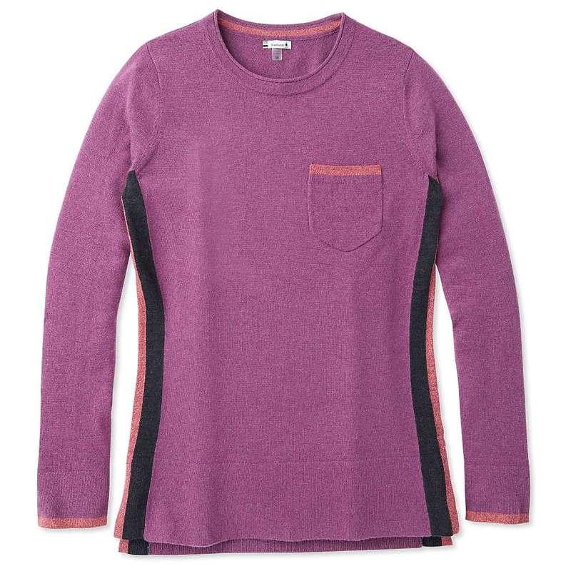 スマートウール レディース ニット・セーター アウター Smartwool Women's Shadow Pine Pocket Sweater Sangria Heather