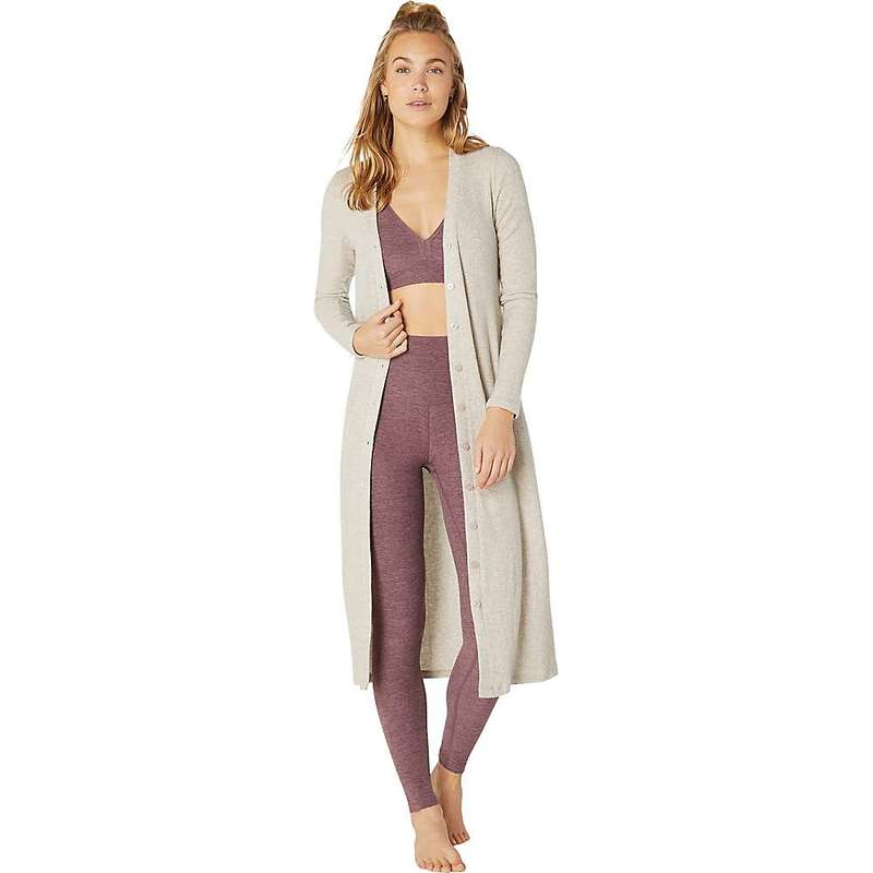 ビヨンドヨガ レディース ニット・セーター アウター Beyond Yoga Women's Your Line Buttoned Duster Oatmeal Heather