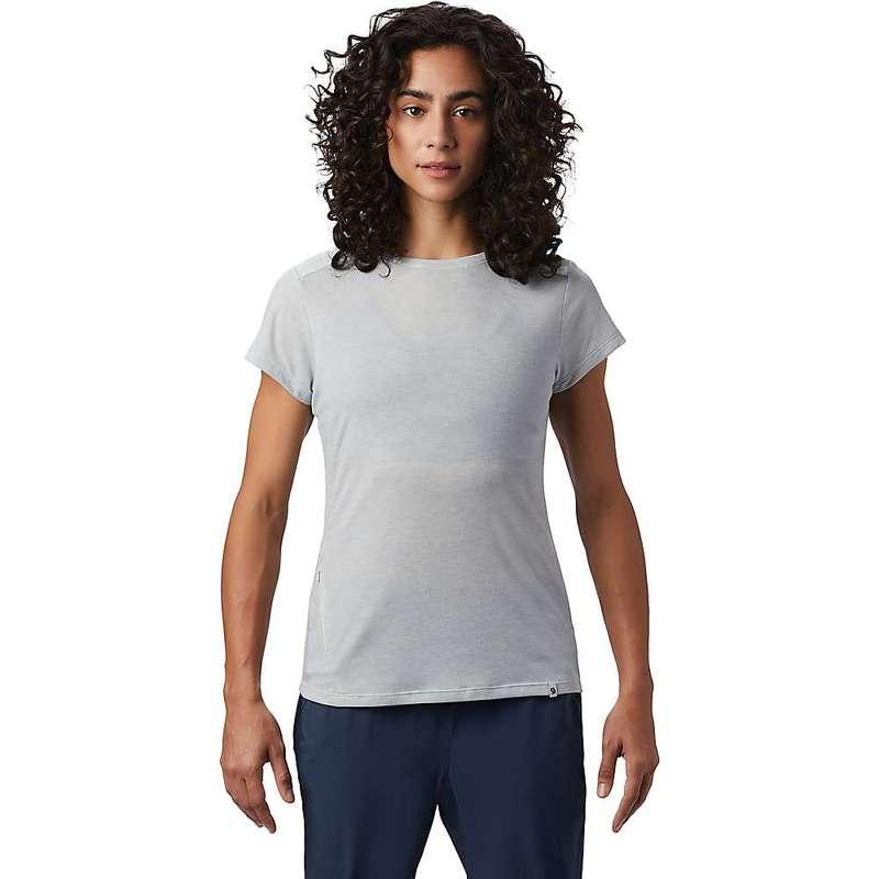 マウンテンハードウェア レディース Tシャツ トップス Mountain Hardwear Women's Right On SS Tee Cotton