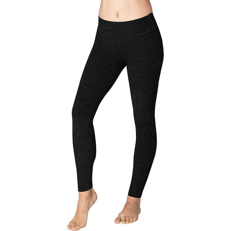 ビヨンドヨガ レディース カジュアルパンツ ボトムス Beyond Yoga Women's Spacedye Essential Long Legging Darkest Night
