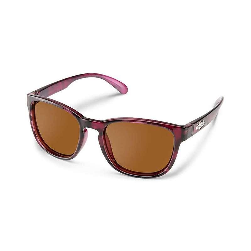 サンクラウド レディース サングラス・アイウェア アクセサリー Suncloud Loveseat Polarized Sunglasses Violet Havana / Brown