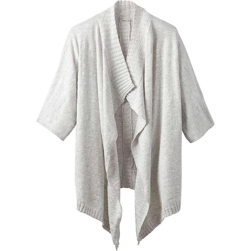 ファッションなデザイン プラーナ レディース ニット・セーター アウター Prana Women&39;s Birdie Sweater Titanium Grey, Stand on line NY af2929dd