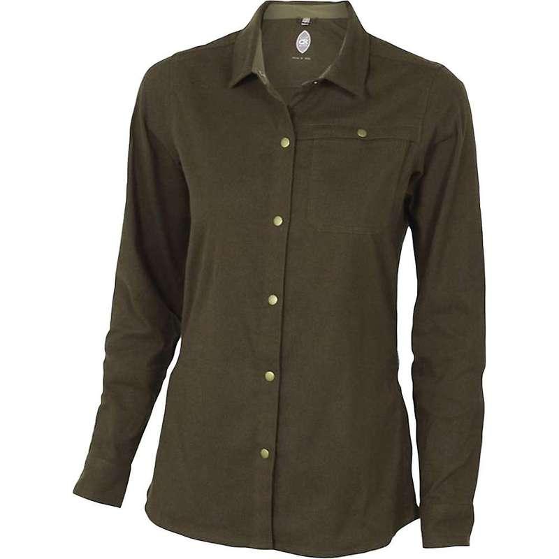 クラブライド レディース シャツ トップス Club Ride Women's Switchback Flannel Olive