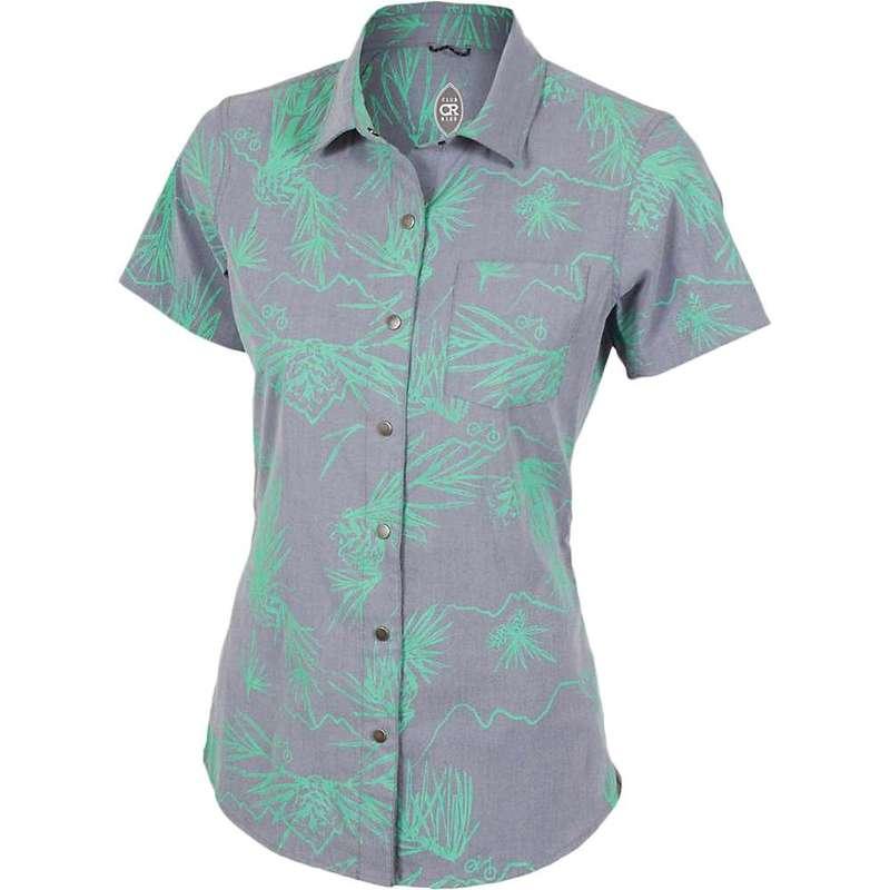 クラブライド レディース シャツ トップス Club Ride Women's Sandi Surfer Shirt Navy Print