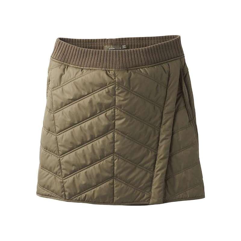 プラーナ レディース スカート ボトムス Prana Women's Diva Wrap Skirt Slate Green