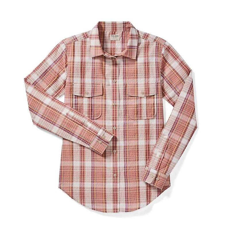 フィルソン レディース シャツ トップス Filson Women's Conway Shirt ClyMauvCrm