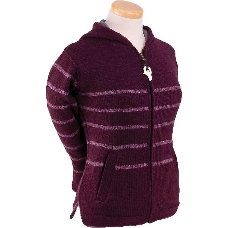 ランドロマット レディース ニット・セーター アウター Laundromat Women's Montauk Sweater New Burgundy