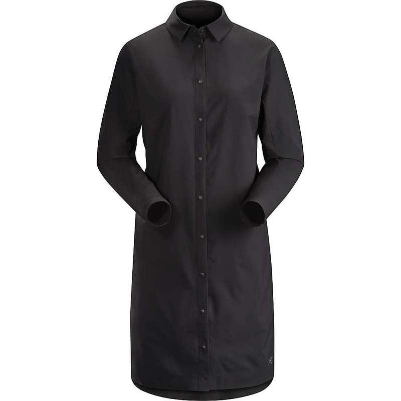 アークテリクス レディース シャツ トップス Arcteryx Women's Contenta LS Shirt Black