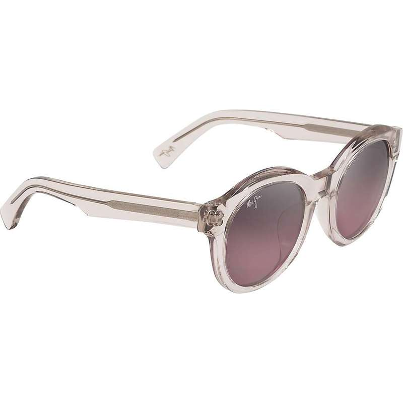 マウイジム レディース サングラス・アイウェア アクセサリー Maui Jim Women's Jasmine Polarized Sunglasses Crystal with a Hint of Pink/Maui Rose