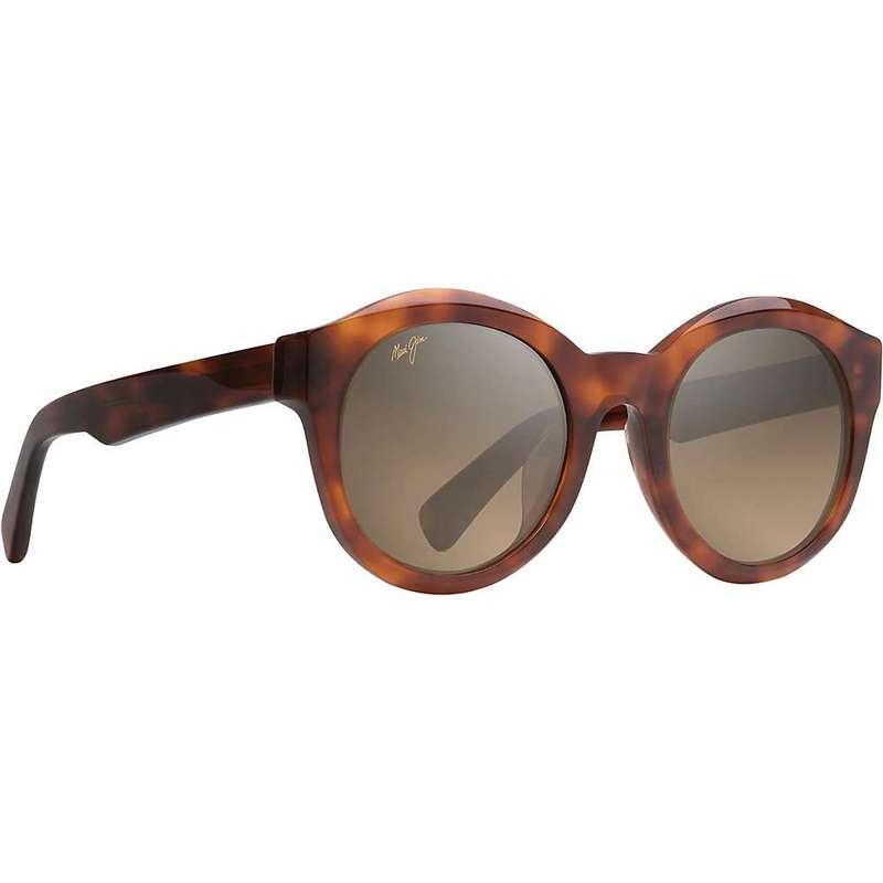 マウイジム レディース サングラス・アイウェア アクセサリー Maui Jim Women's Jasmine Polarized Sunglasses Koa Tortoise/HCL Bronze