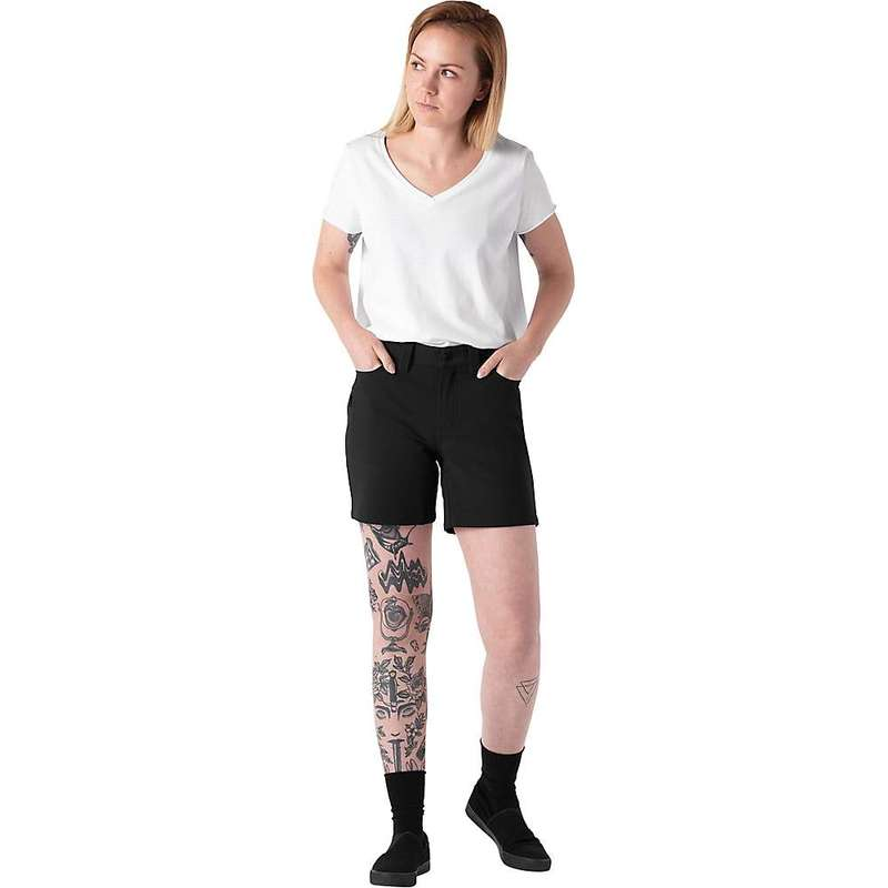 クローム インダストリーズ レディース ハーフパンツ・ショーツ ボトムス Chrome Industries Women's Anza Short Black