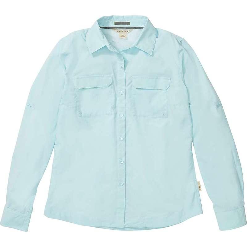 エクスオフィシオ レディース シャツ トップス ExOfficio Women's Missoula LS Shirt Corydalis Blue