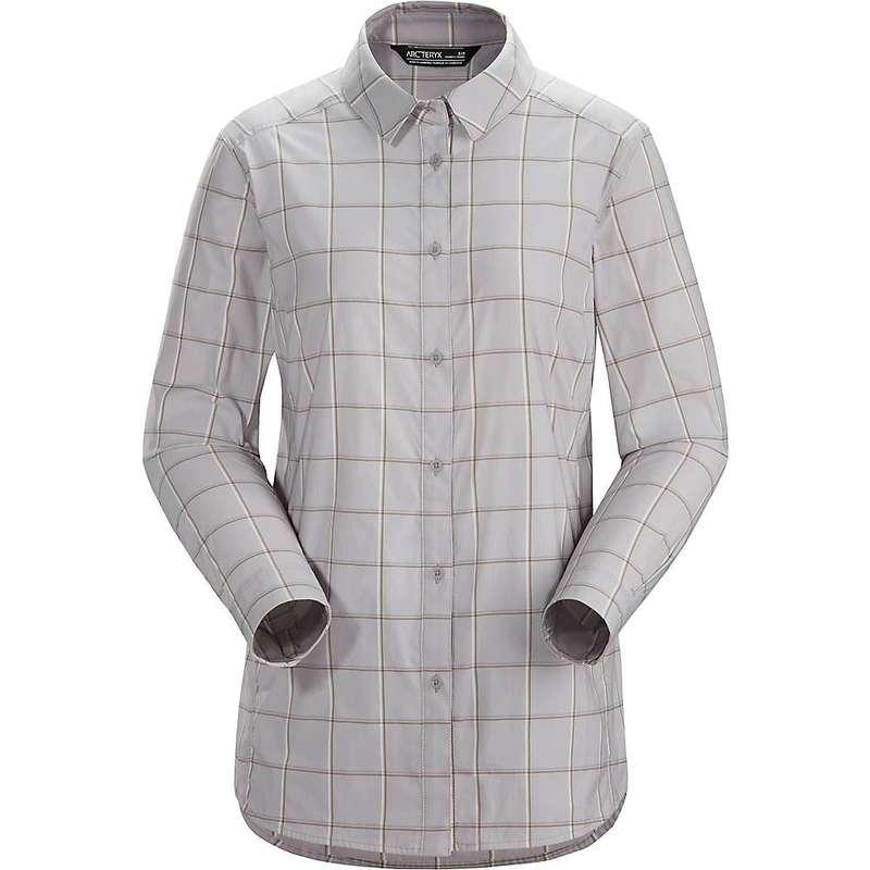 アークテリクス レディース シャツ トップス Arcteryx Women's Riel LS Shirt Infusion