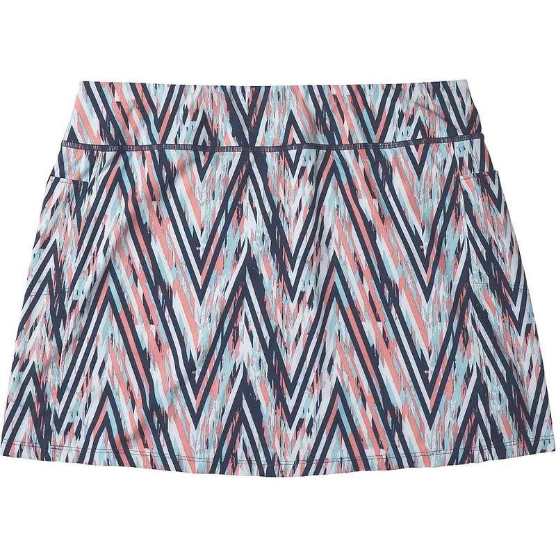 スマートウール レディース スカート ボトムス Smartwool Women's Merino Sport Lined Skirt Canyon Rose Zig Zag Print