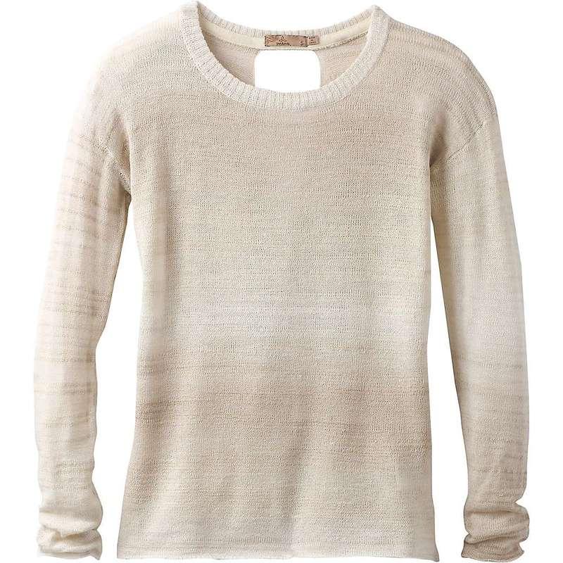 プラーナ レディース ニット・セーター アウター Prana Women's Nightingale Sweater Stone
