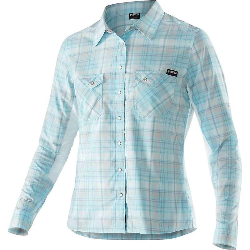 エヌアールエス レディース シャツ トップス NRS Women's Guide LS Shirt Pale Blue