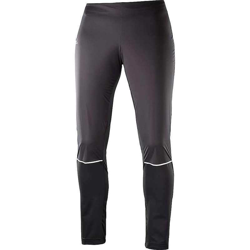 サロモン レディース カジュアルパンツ ボトムス Salomon Women's Lightning Lightshell Pant Black