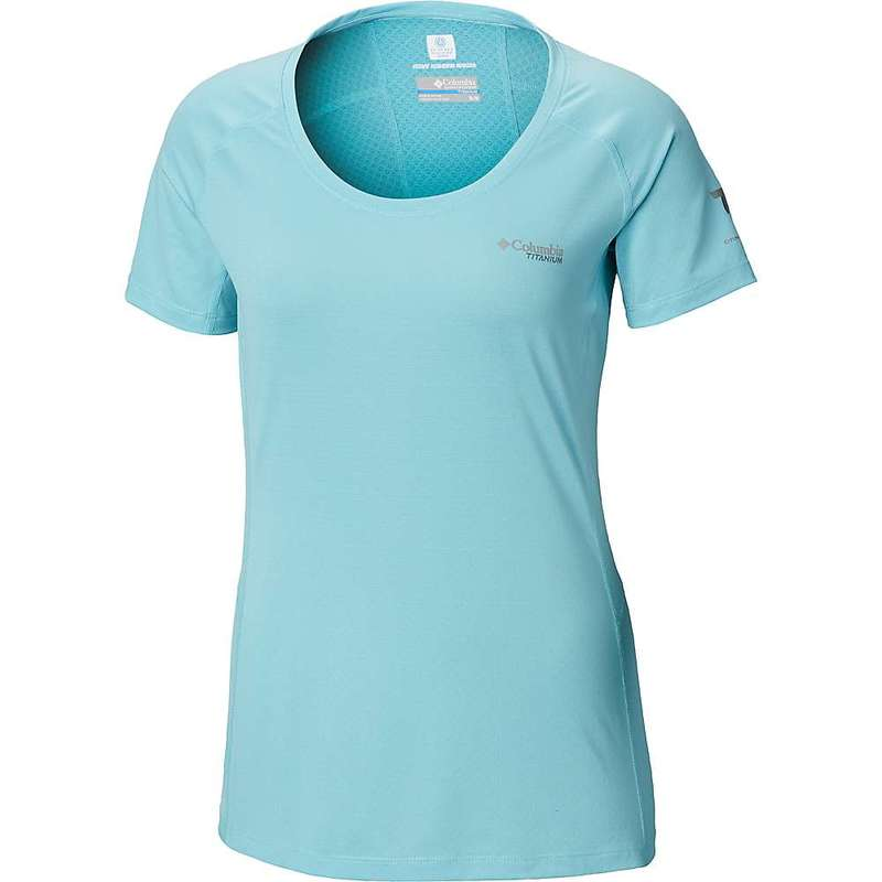 コロンビア レディース Tシャツ トップス Columbia Women's Titan Trail Lite SS Top Clear Blue